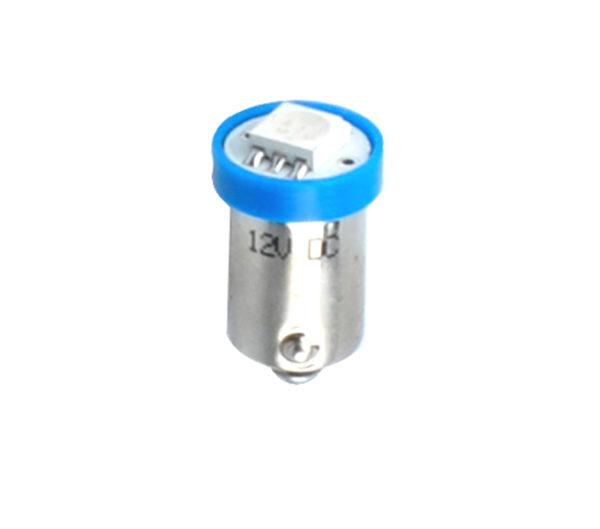 LED   Diode L009   Ba9s 4xSMD3528 Blau