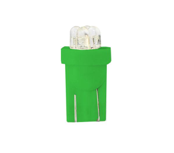LED   Diode L012   W5W 4LED 3mm, Gr?n
