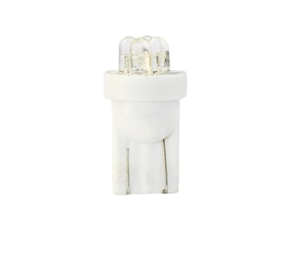 LED   Diode L012   W5W 4LED 3mm, Wei?