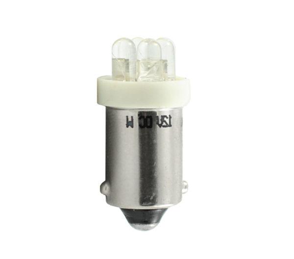 LED Diode L013 Ba9s 4LED 3mm, Weiß