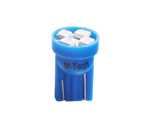 LED   Diode L017   W5W 4xSMD3528 Blau