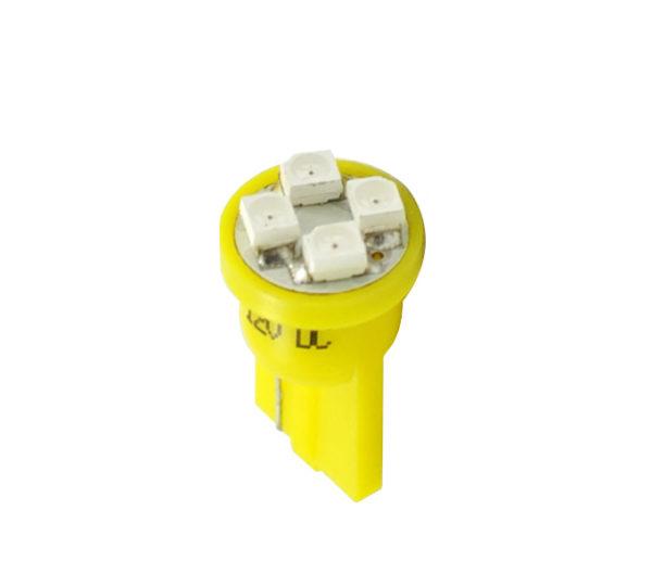 LED   Diode L017   W5W 4xSMD3528 Gelb
