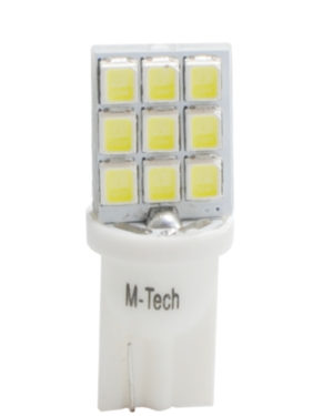 LED L021   W5W seitlich gerichtet 9xSMD3628 Wei?