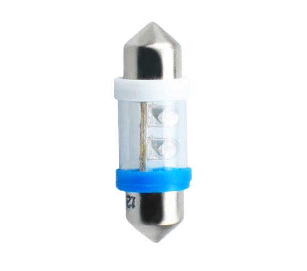 LED   Diode L022   C5W 31mm 4LED 3mm Blau